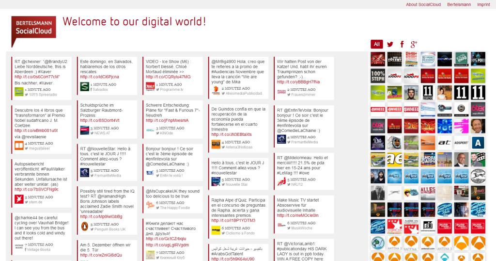 Bertelsmann Social Cloud