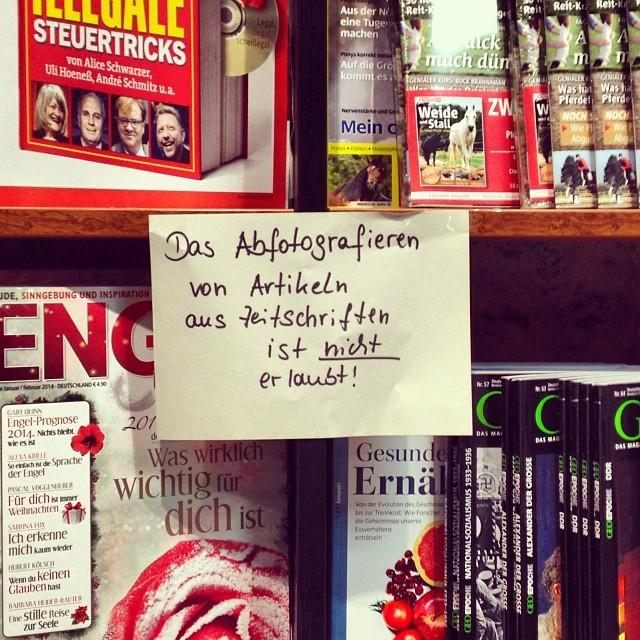 gefunden von Oliver Gerken, Instagram @gerkeno