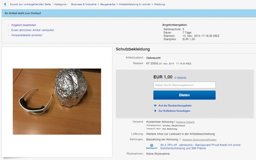Schutzbekleidung   eBay